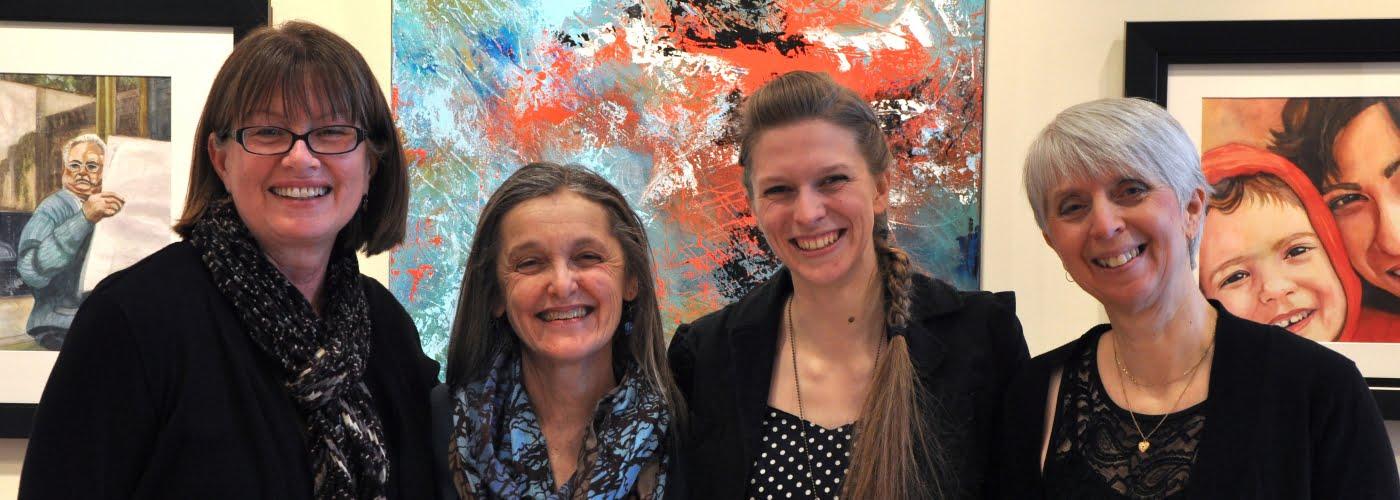 Women's Day Art Show Team