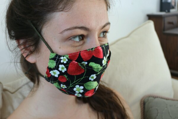Strawberry-Mask-w-Cord