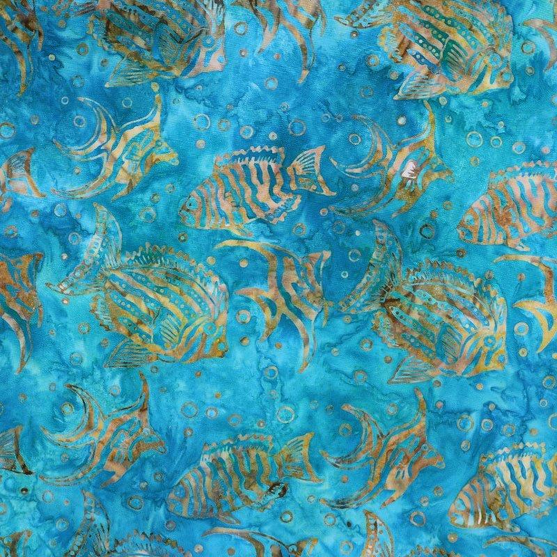 Batik Gold Fish