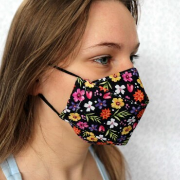 3D Cotton Face Covering