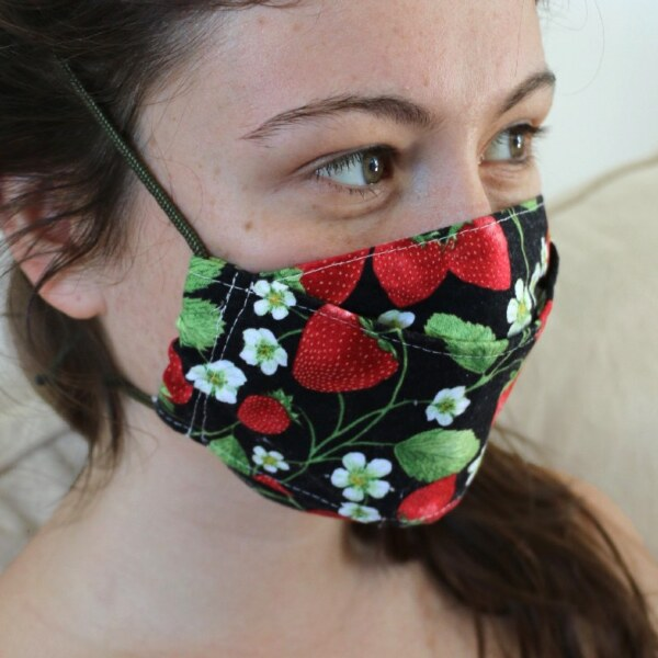 3D Cotton Face Covering-Small