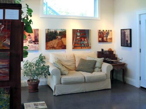 Studio Toward Exterior Door