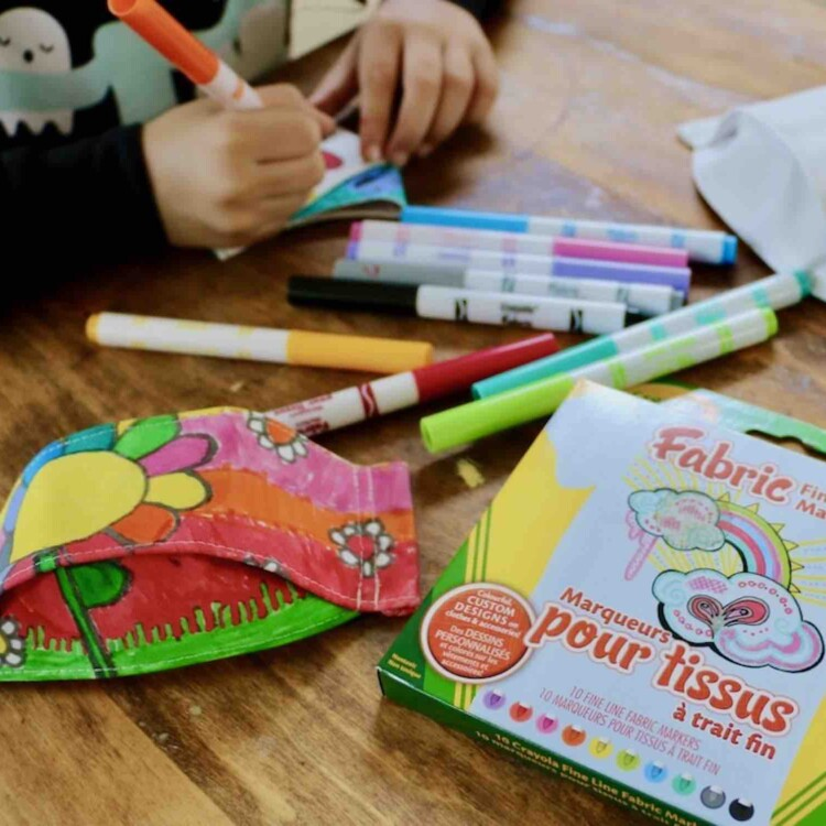 3D Face Covering Colouring Kit